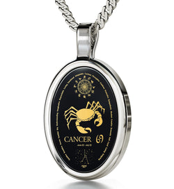 Cute Presents for Boyfriend: Cancer Man Traits, Mens Black Necklace, Cool Christmas Gifts for Guys