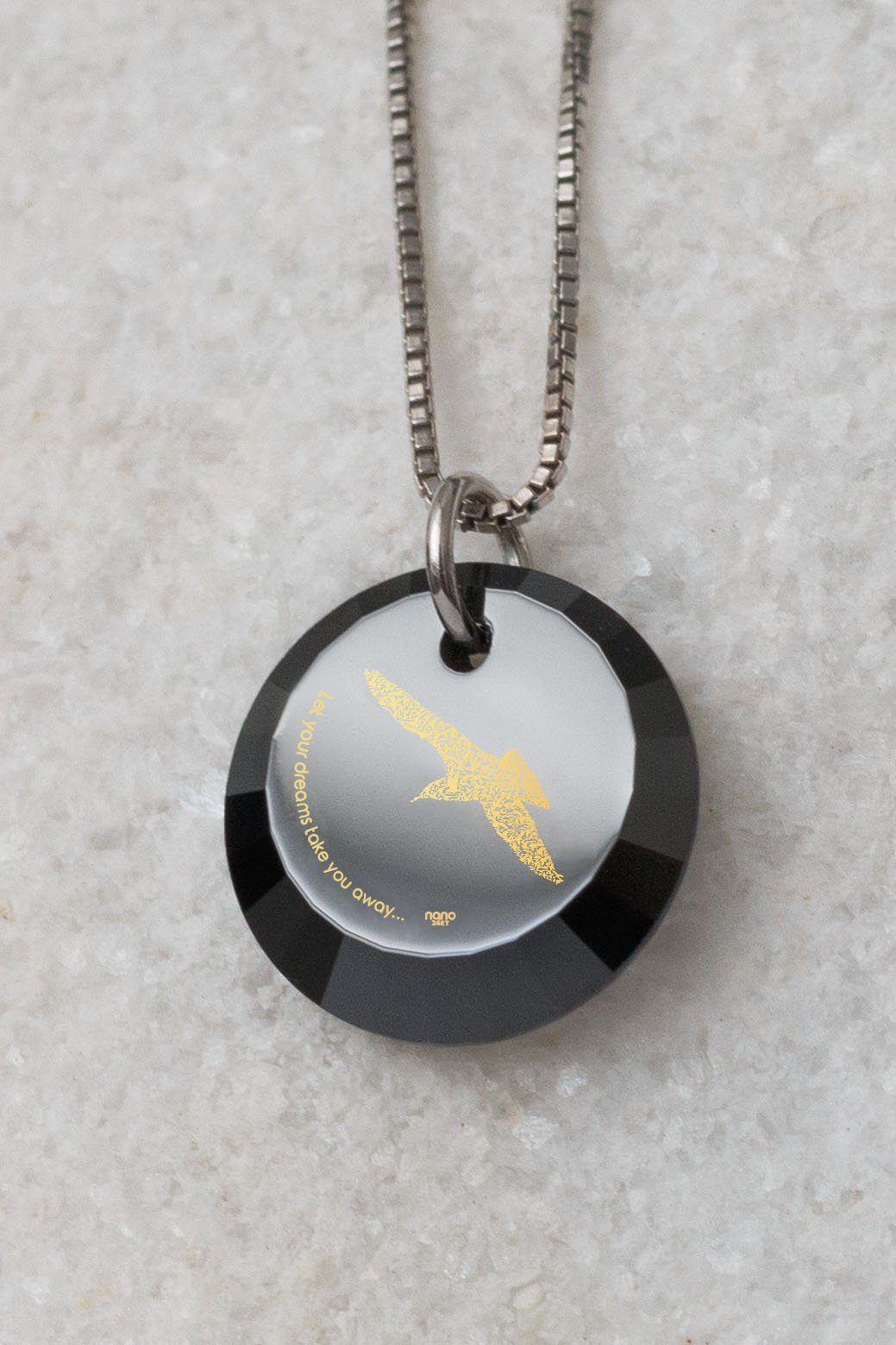 "Gifts for Teens ""Let Your Dreams Take You Away"", Daughter Gifts, Sea Gull Necklace, Nano Jewelry"