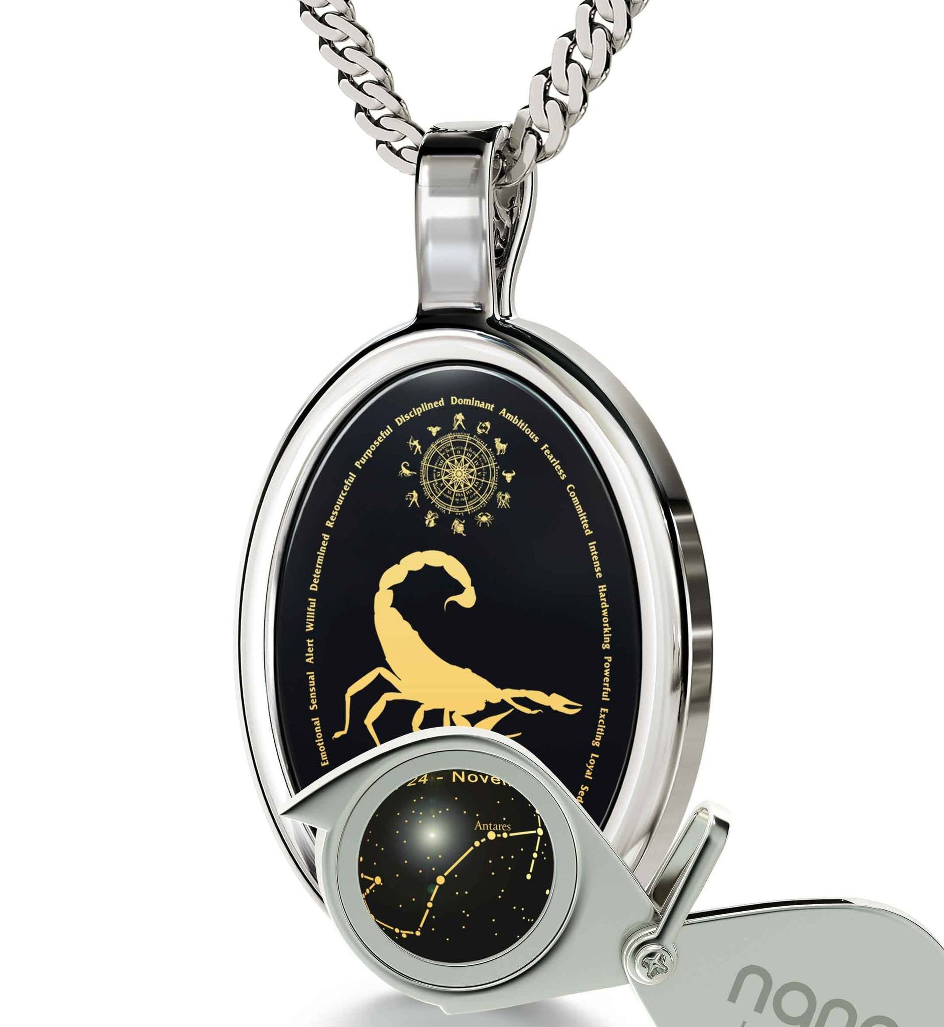 Good Anniversary Gifts for Her: Horoscope Necklace, Zodiac Signs Personality, What to Get Your Girlfriend for Valentines Day