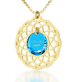What to Get Girlfriend for Birthday, Blue Topaz, 24k Imprint, Pure Romance Products, Nano Jewelry