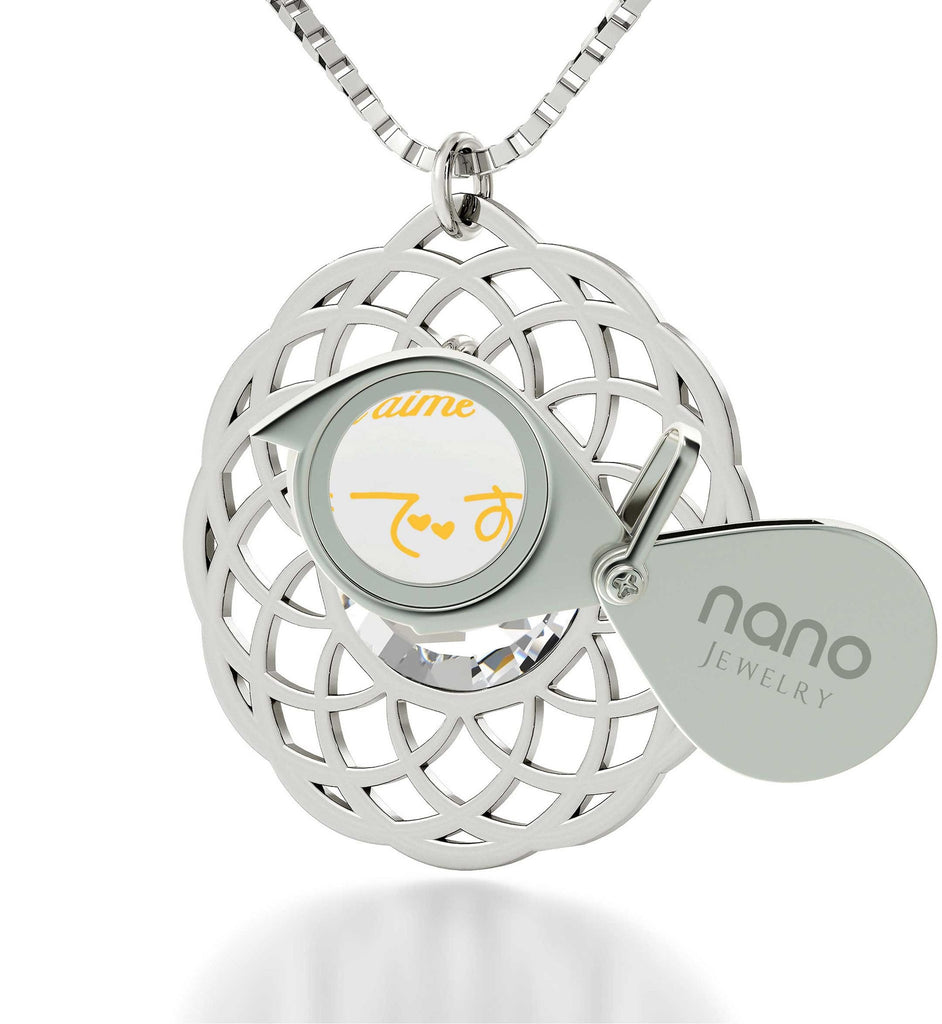 Good Gifts For Girlfriend, Meaningful Jewelry, The Love Necklace Nano