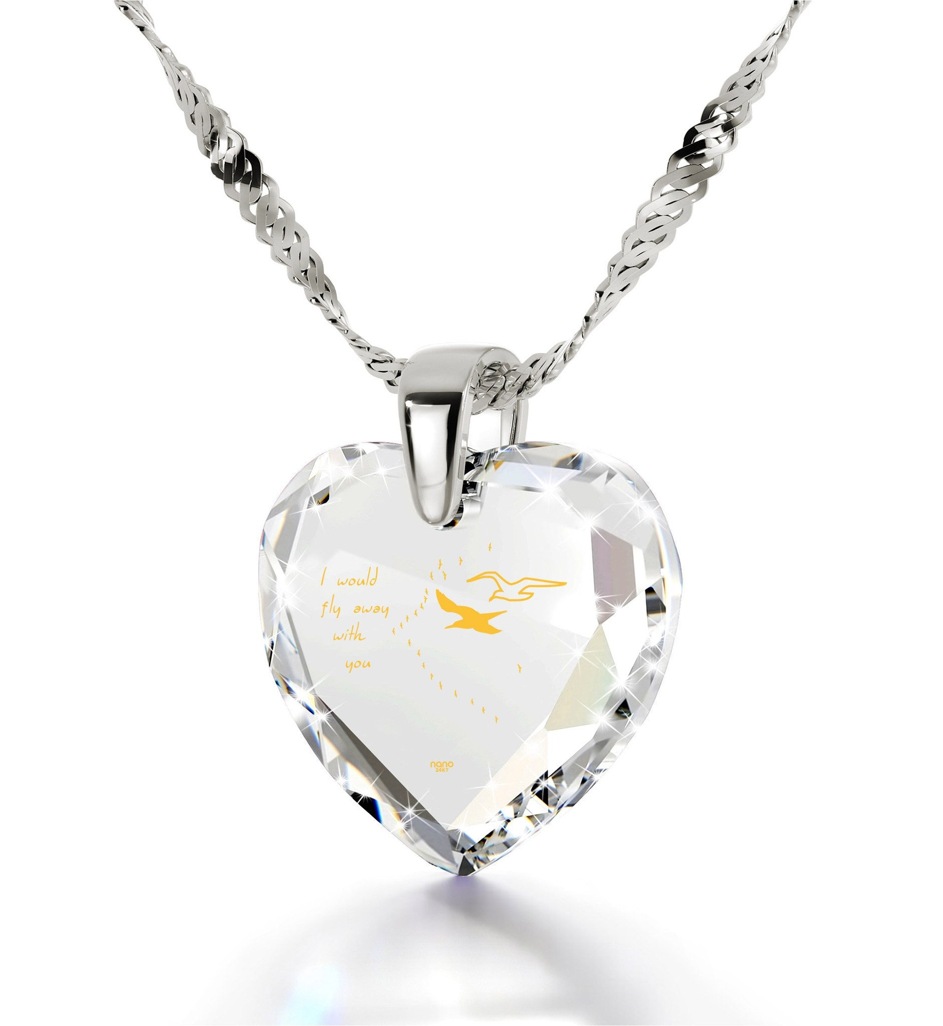 Wife Birthday Ideas Cubic Zirconia Necklace Anniversary Gifts For Girlfriend By Nano