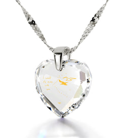 """Wife Birthday Ideas, Cubic Zirconia Necklace, Anniversary Gifts for Girlfriend, by Nano Jewelry"""