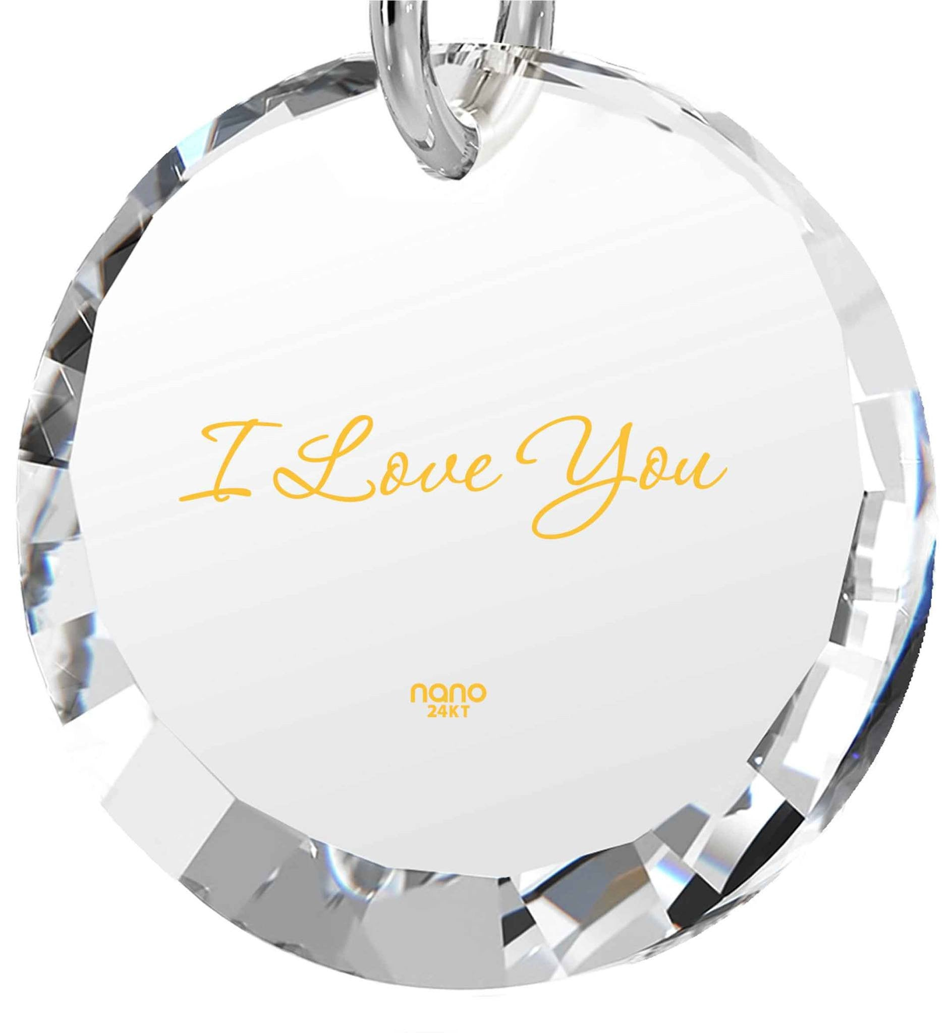 Great Valentines Gifts for Her, Different Christmas Presents, Cute Necklaces for Girlfriend, Nano Jewelry