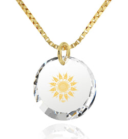 """Cute Necklaces for Her, CZ White Stone, 14k Gold Pendants for Womens, Valentine Gifts for Girlfriend by Nano Jewelry"""