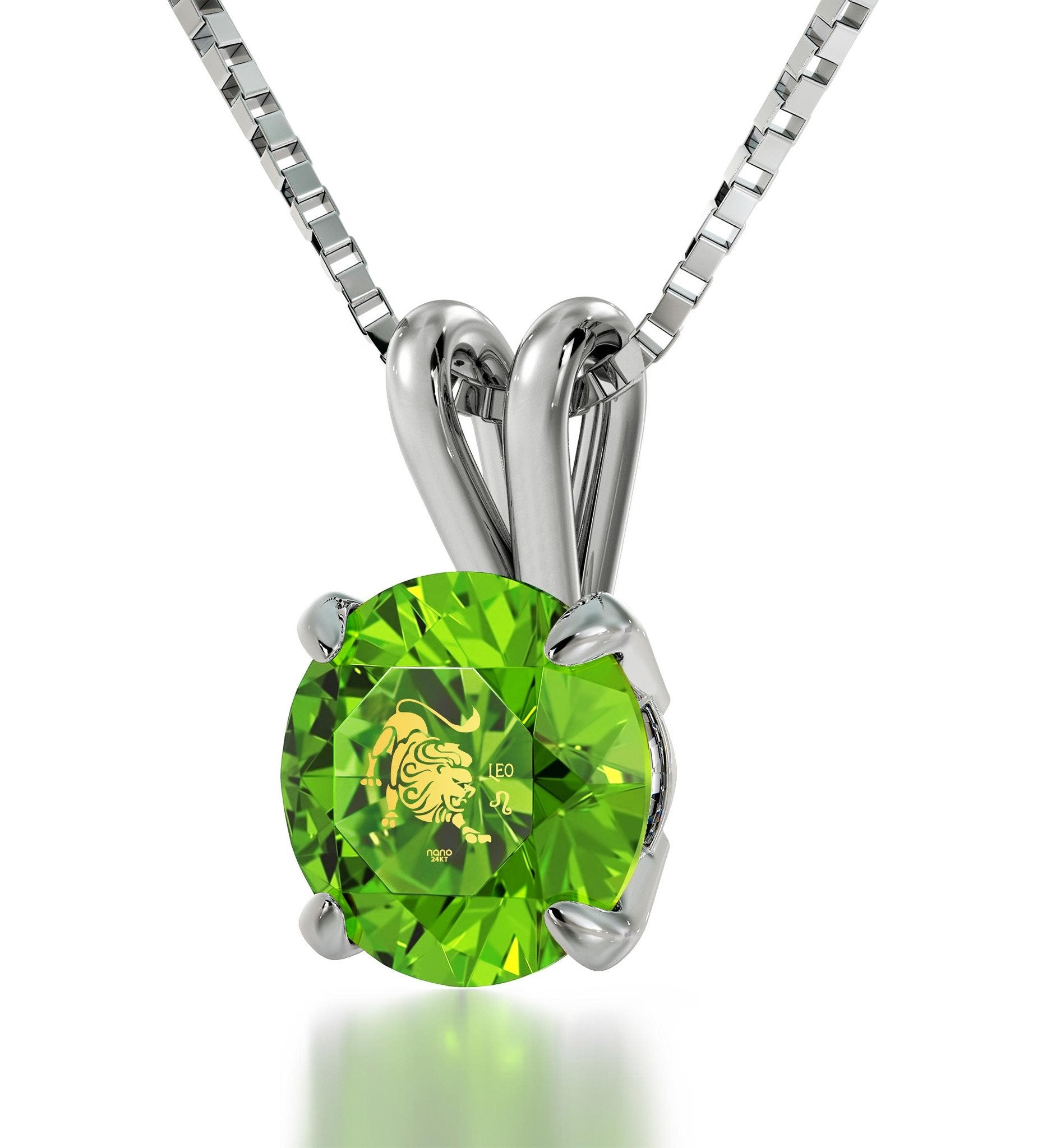 unique jewelry with green cz pendant christmas present ideas for wife perfect valentines