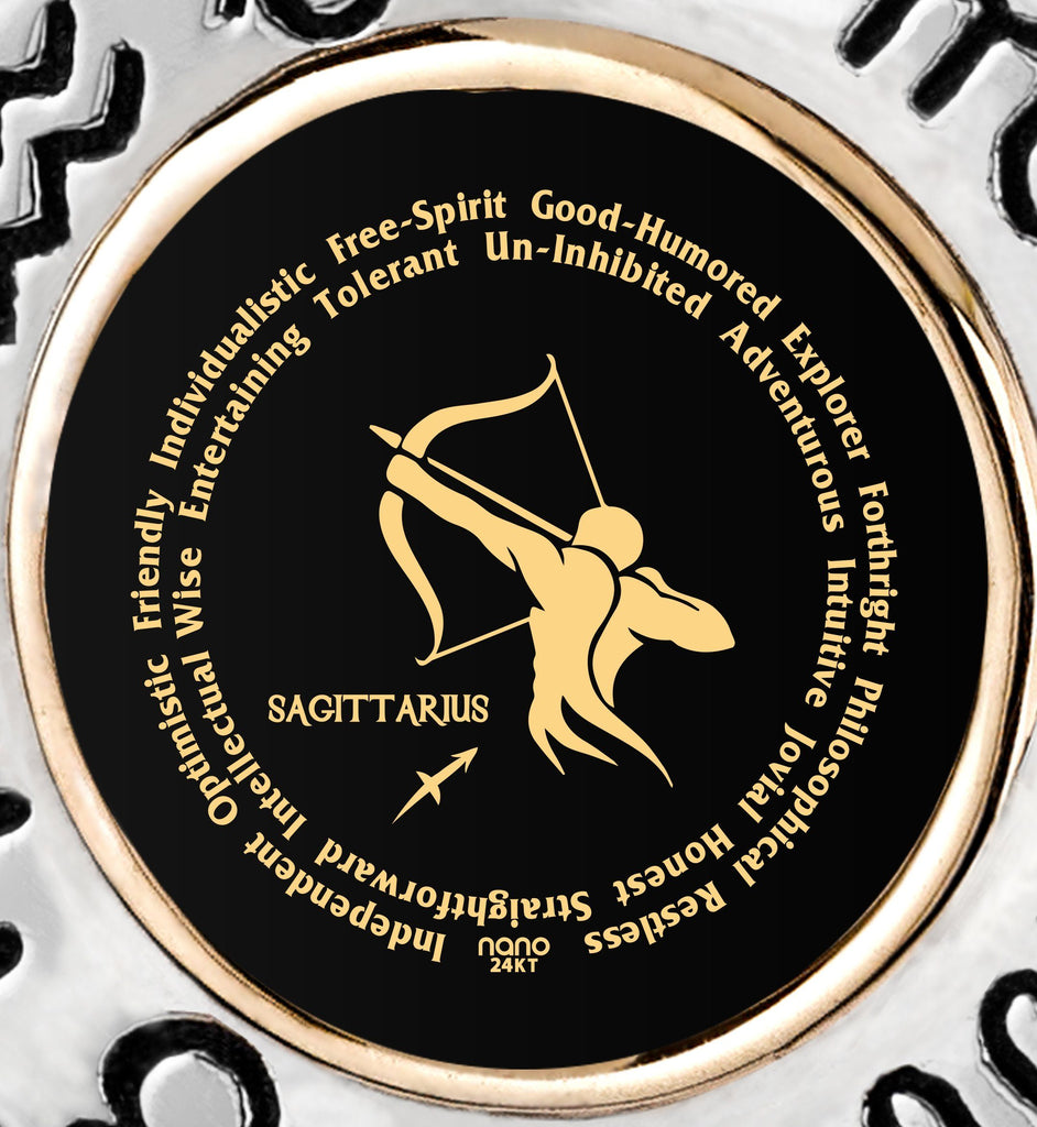 Husband Valentines Gift: Sagittarius Man Traits Jewelry, Good Presents for Boyfriends, by Nano