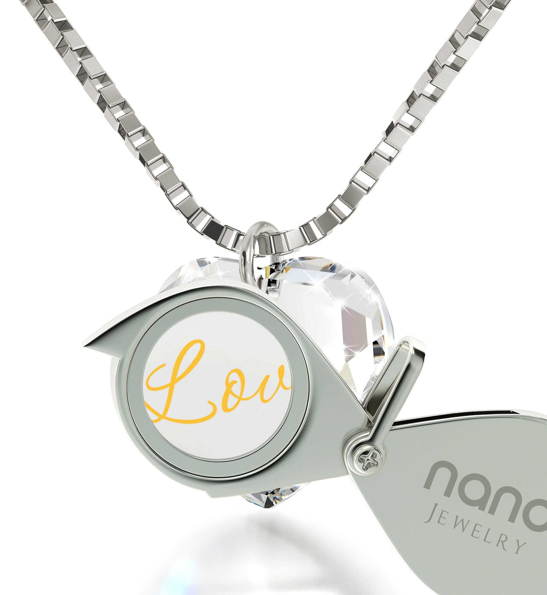 "ed4425bac ... ""I Love You"" in 24k Gold, Top Gift Ideas for Women, Valentines;"