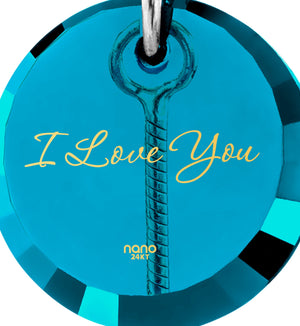 I Love You to the Moon and Back Gifts: Necklaces for Her, Valentines Ideas for Wife, Nano Jewelry
