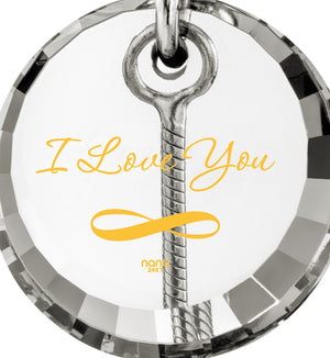 I Love You to the Moon and Back Jewelry: Cute Necklaces for Her, Perfect Valentines Gift for Girlfriend, Nano Jewelry