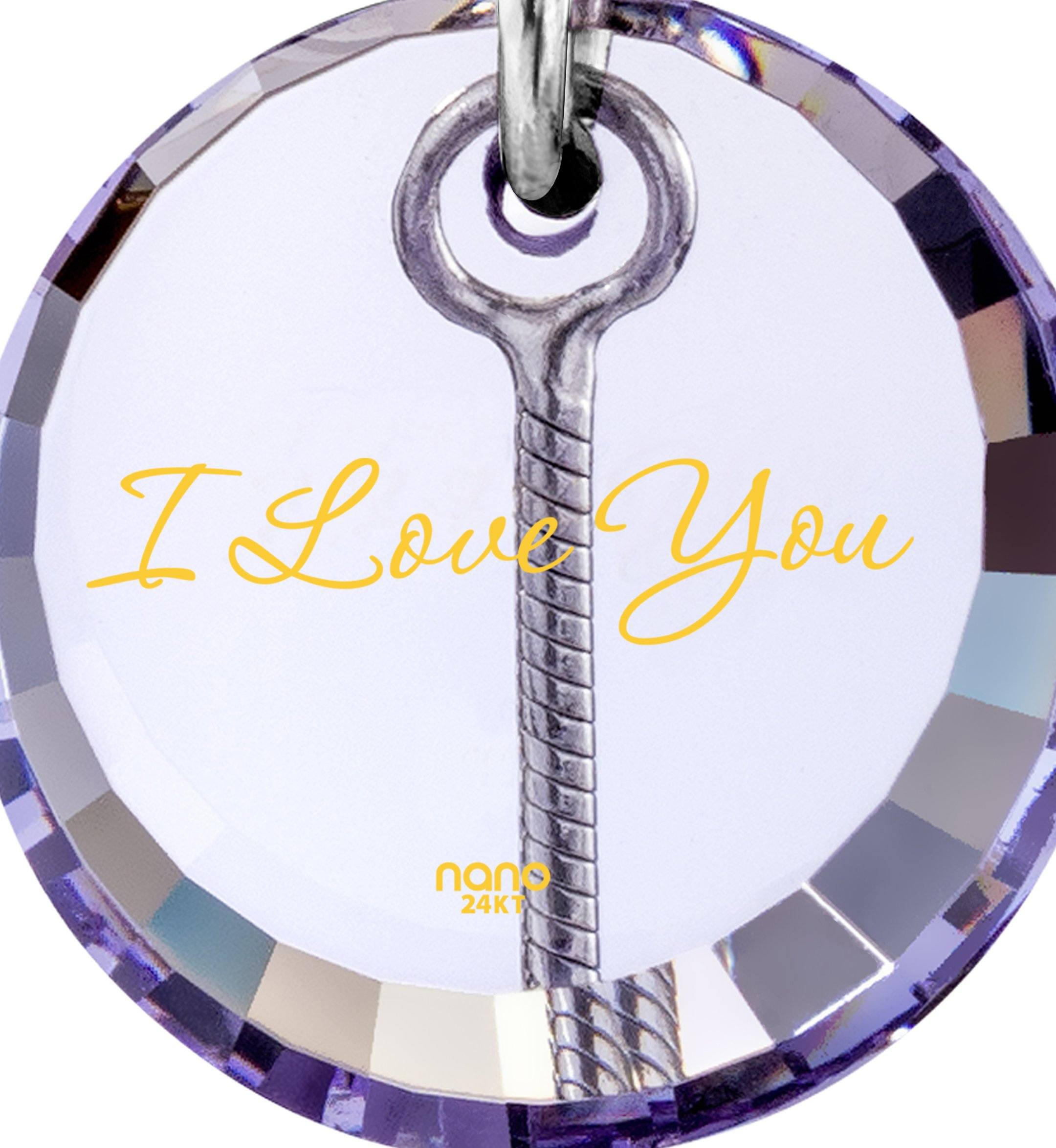 I Love You to the Moon and Back Jewelry: Love Necklaces for Girlfriend, Gift Ideas Valentines Day, Nano Jewelry