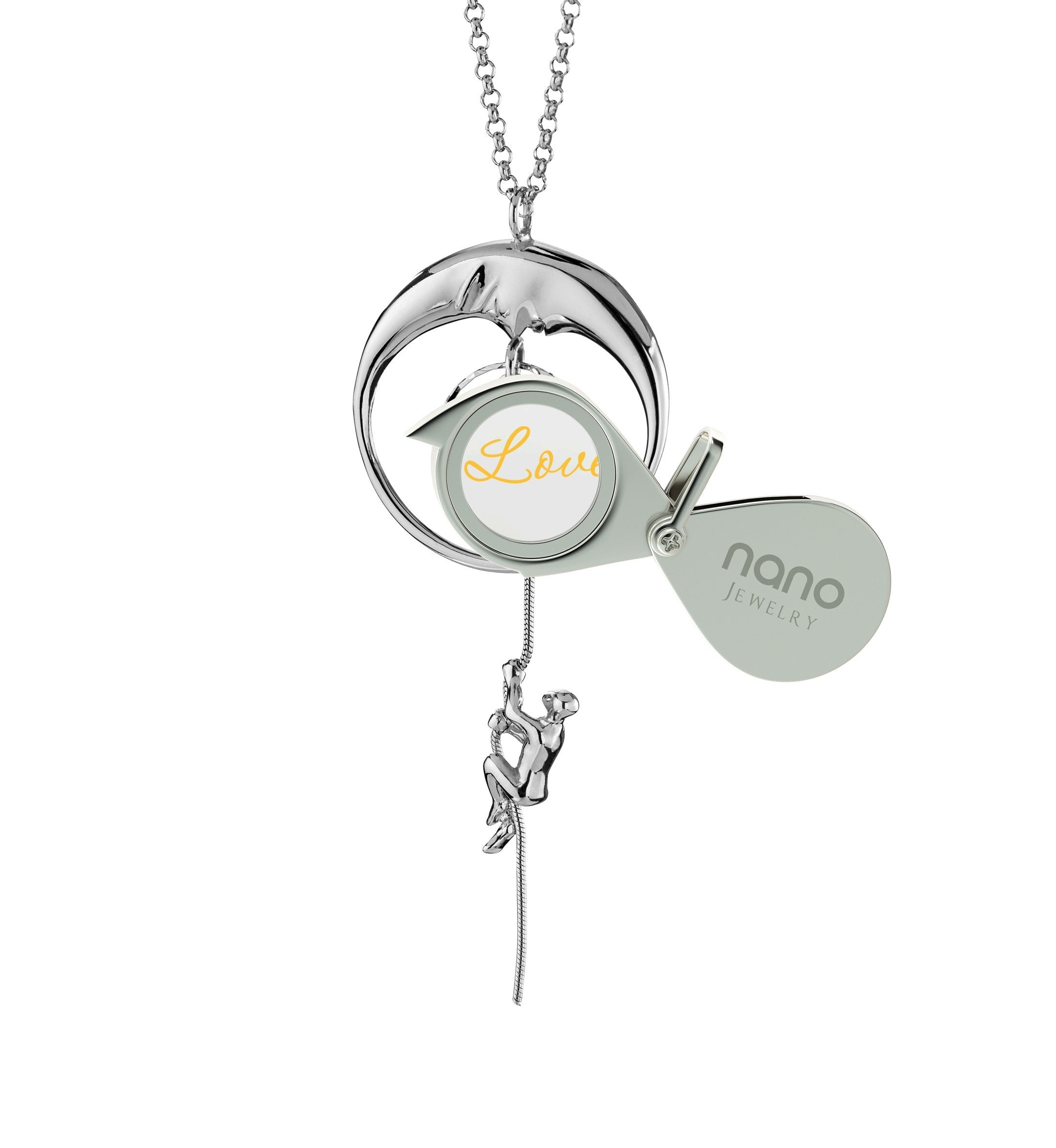 I Love You to the Moon and Back Jewelry: Necklaces for Her, Gift Ideas Valentines Day, Nano Jewelry
