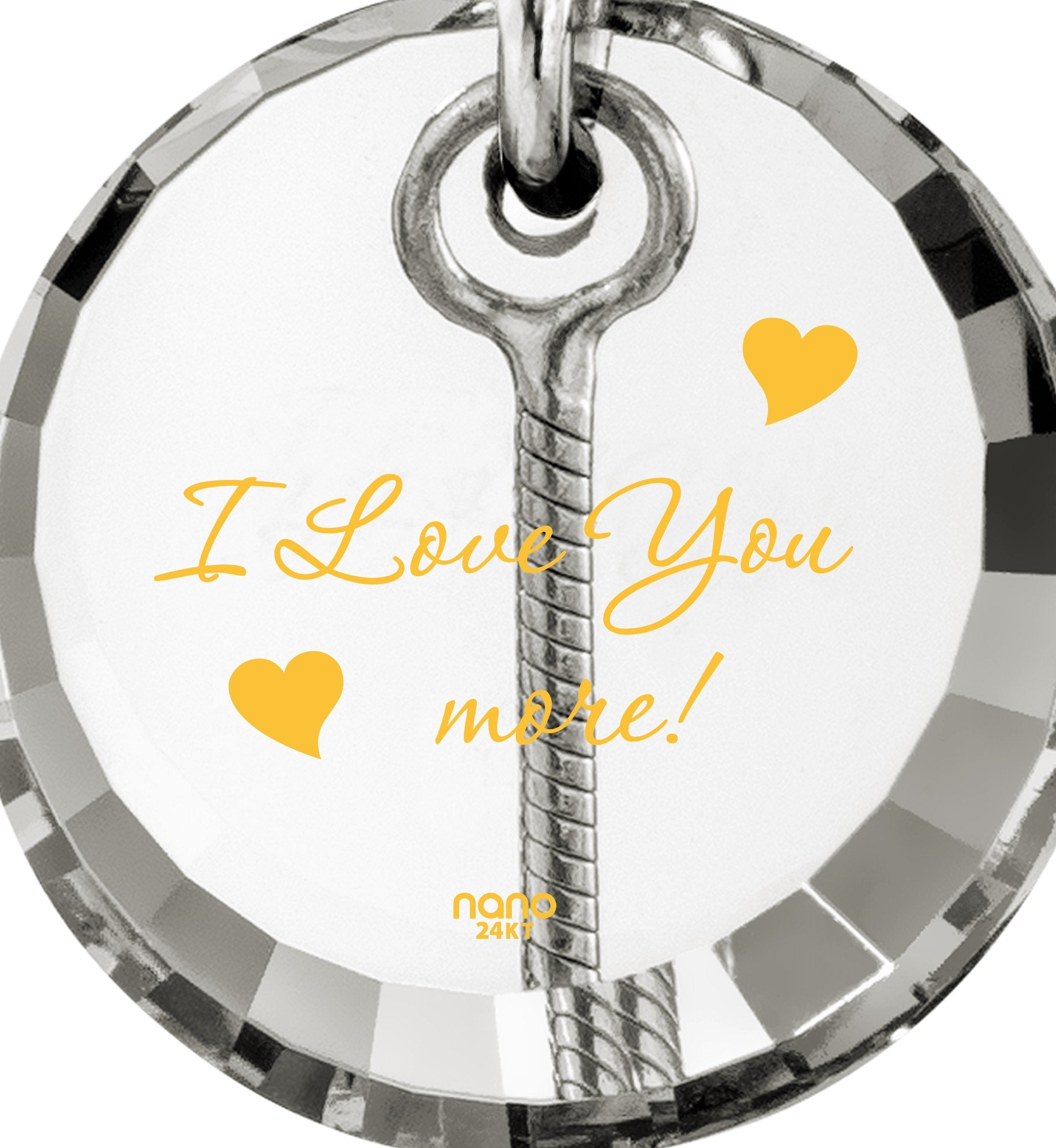 I Love You to the Moon and Back Jewelry: Women's Gifts for Christmas, Girlfriend Birthday Ideas, Nano Jewelry