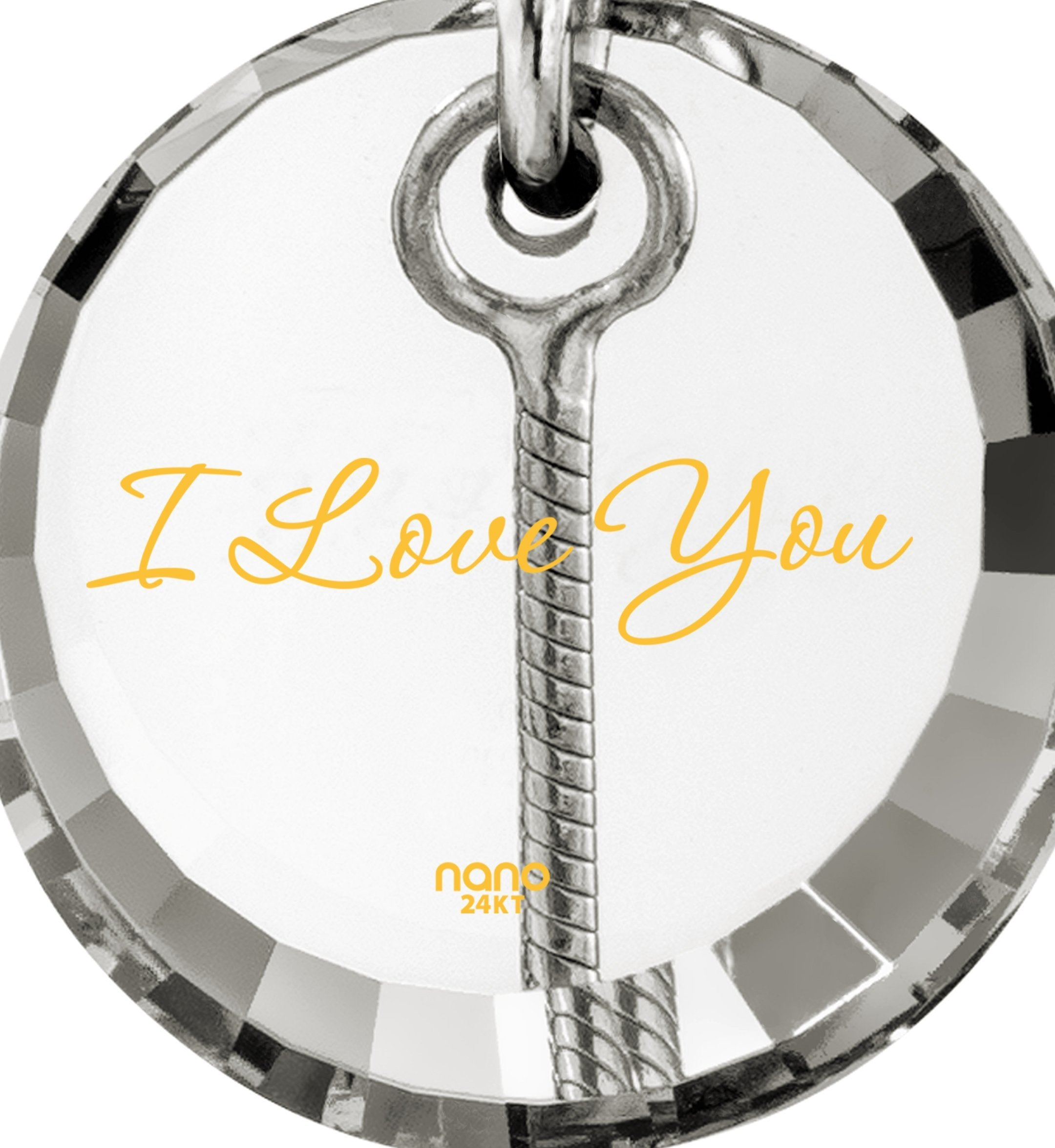 I Love You to the Moon and Back Necklace: Ladies Gifts for Christmas, Womens Birthday Presents, Womens Silver Jewellery