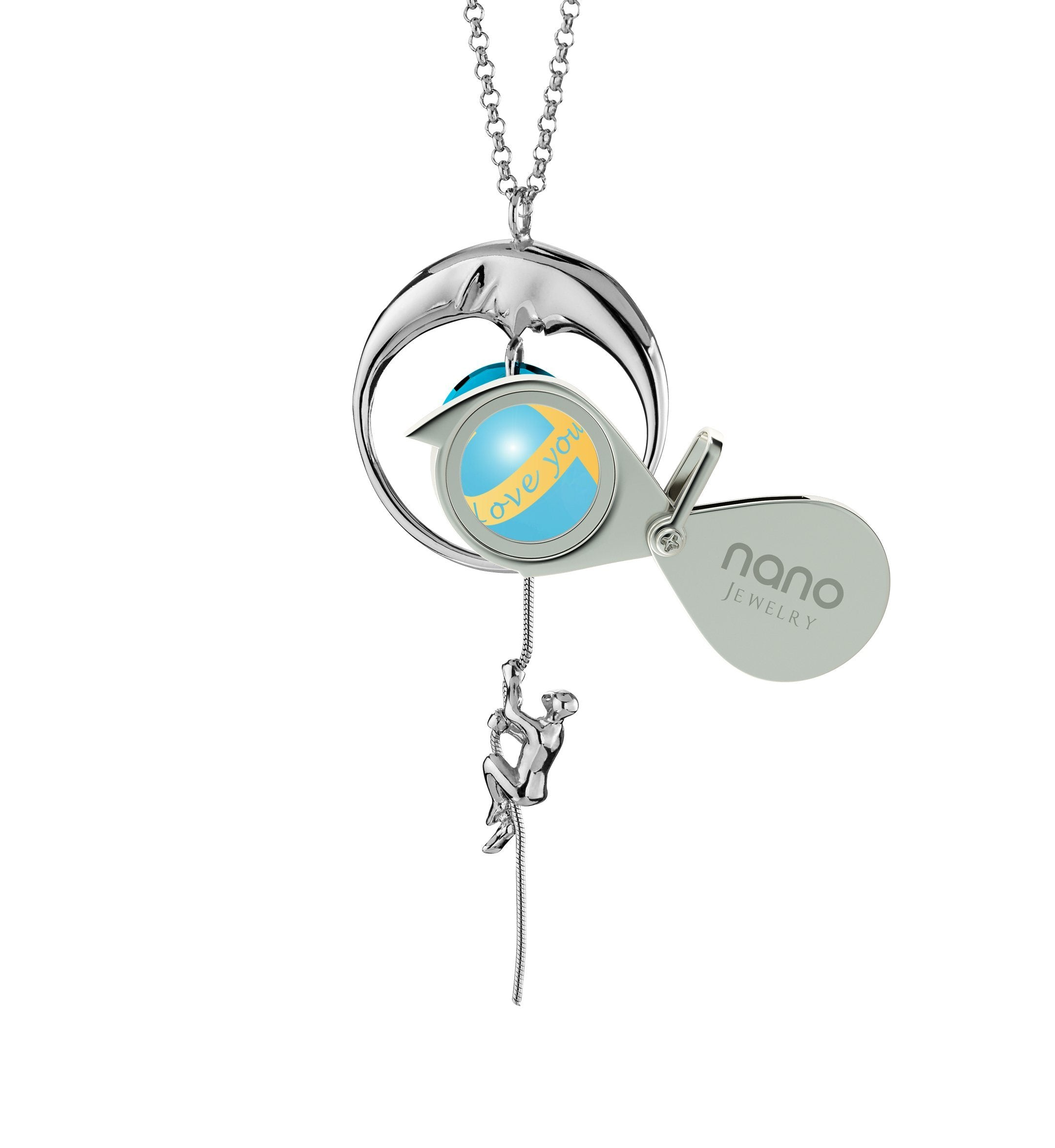 Love You to the Moon and Back Gift from Nano Jewelry! Get Her One Now! 00e9787ba