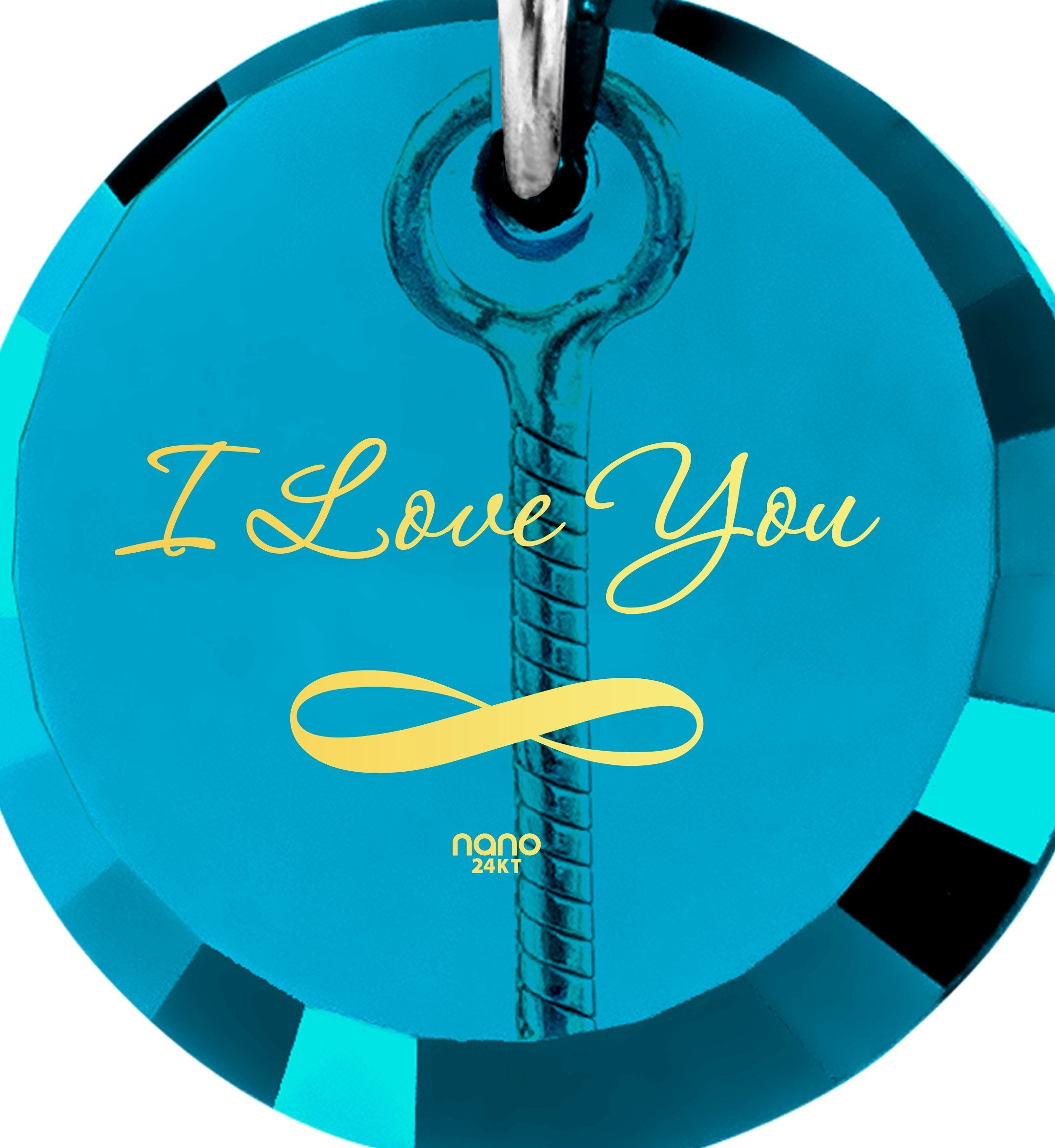 I Love You to the Moon and Back Necklace: Women's Gifts for Christmas, Cute Presents for Girlfriend, Nano Jewelry