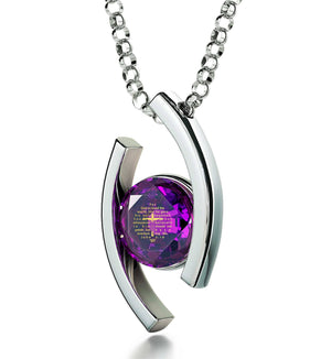 """John 3-16 EngravedinPendant, ChristmasGiftIdeas for Sister, ChristmasPresents for Ladies, ArgentoJewellery, NanoJewelry"""