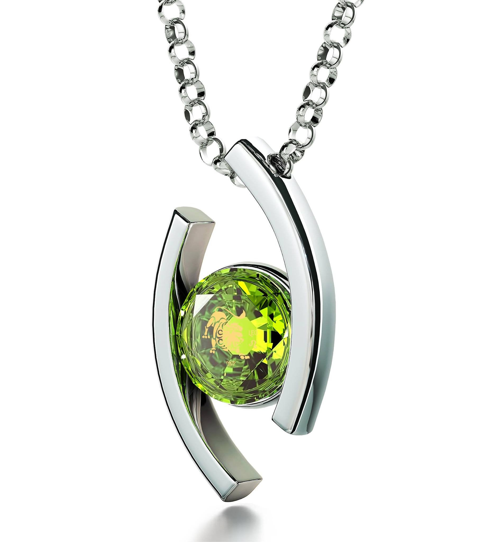 products peridot birthstone august necklace eternity pin