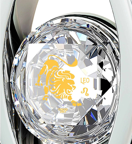 """Leo Jewelry With Zodiac Imprint, Best Christmas Present for Girlfriend, Gifts for the Woman Who Has Everything, by Nano """