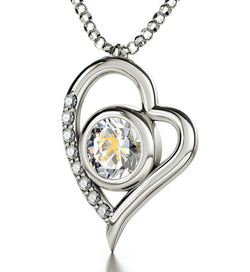 """Libra Jewelry,14k White Gold Pendants for Womens, Unique Valentine Gifts for Her,Good Christmas Presents for Girlfriend"""