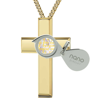 Lord's Prayer Kjv In 24k Imprint Womens Gold Chains Birthday Gift For Teenage Girl Opalite Necklace