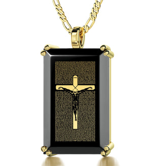 """Matthew 27:2-56 Engraved Pendant, Great Gifts for Him"