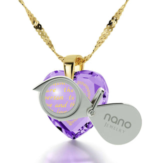 Mothers Necklaces, Top Gifts for Moms, Engraved in 24k Gold, Unusual Christmas Presents, by Nano Jewelry