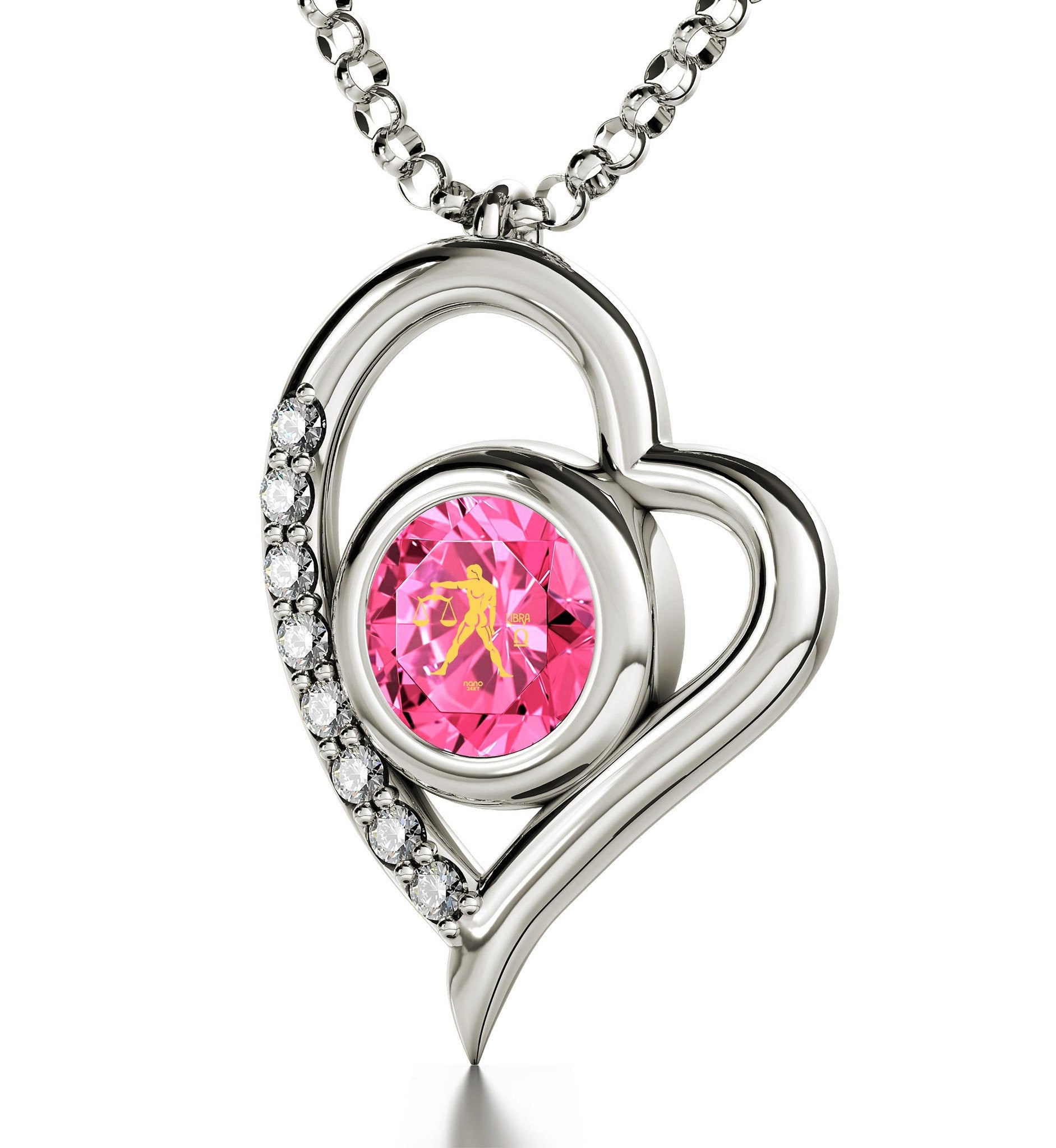 """October Birthstone Necklace, Pink Jewelry,Valentines Day Presents for Her, Special Gifts for Sisters"""