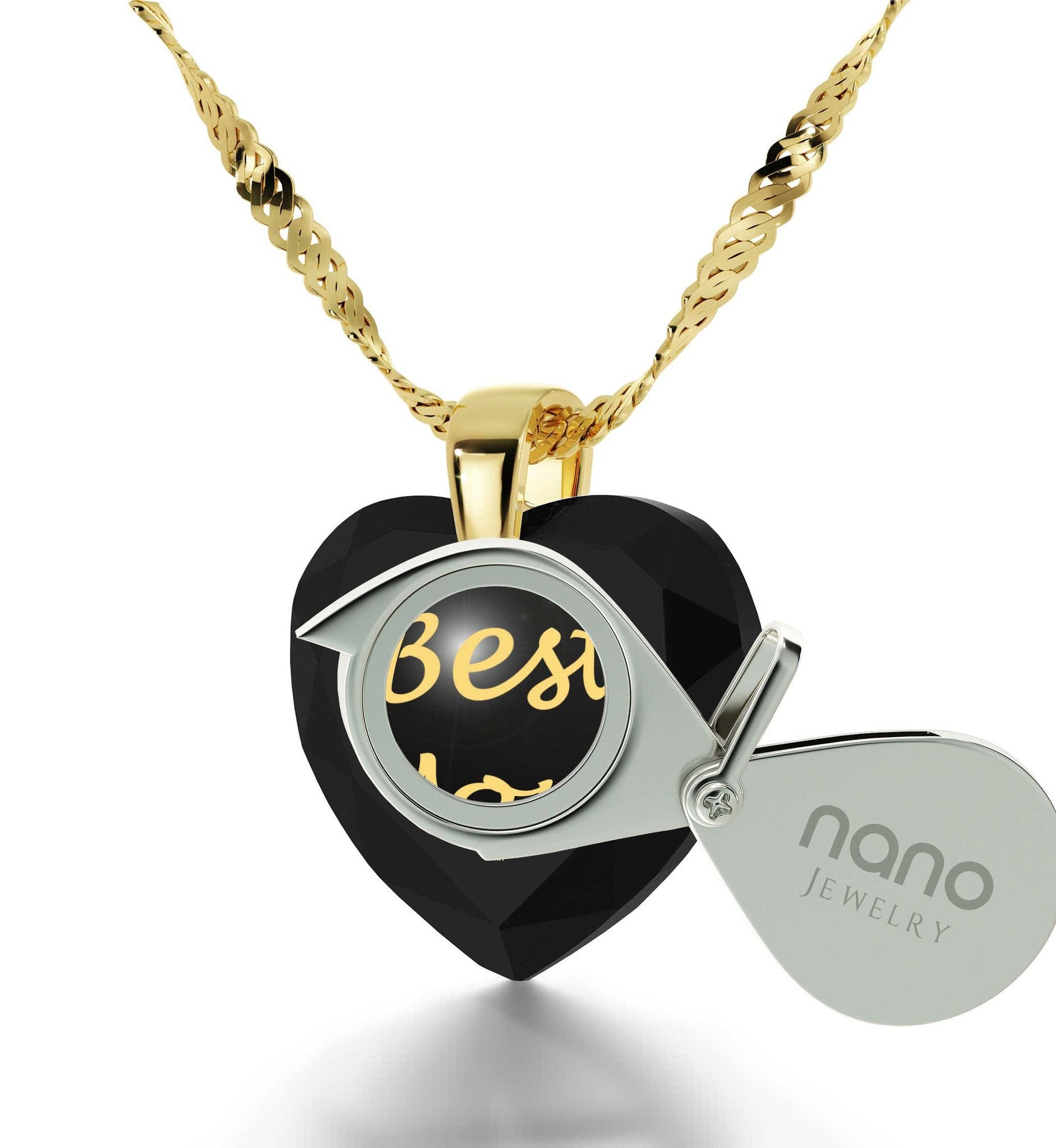 Presents for Mom Christmas, Gold Filled Engraved Necklaces, Special Mother's Day Gifts
