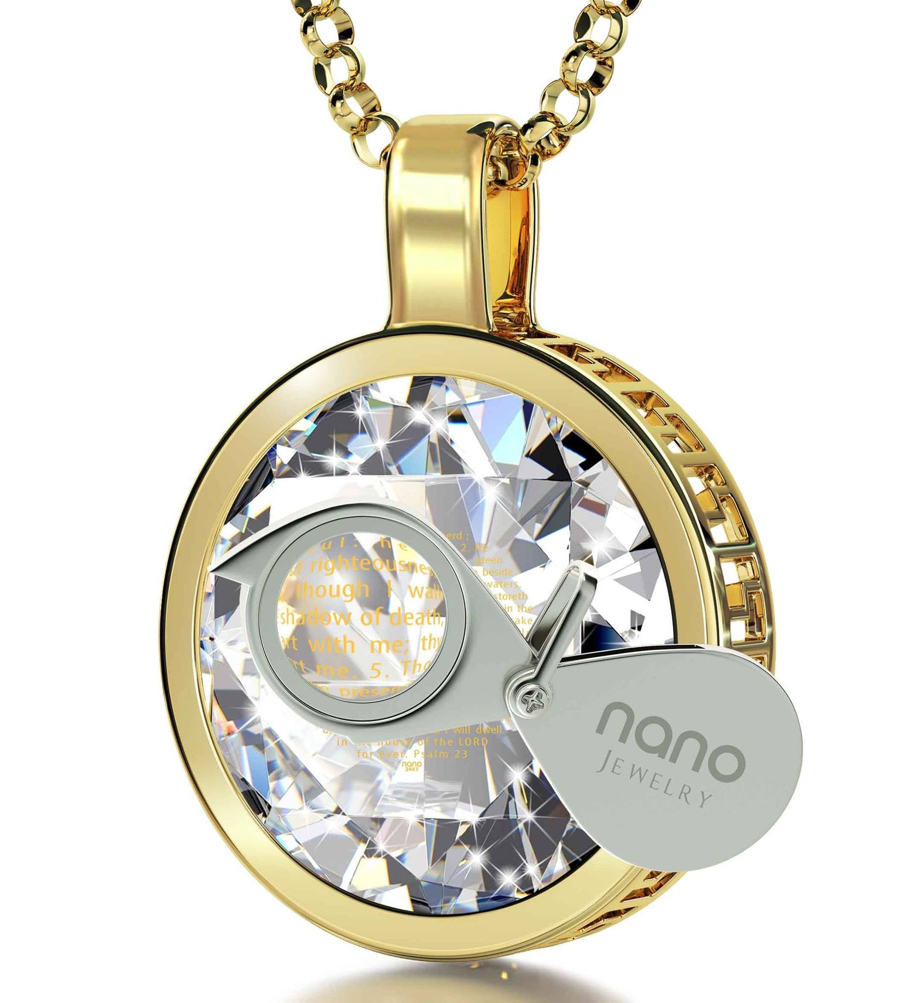 Christian Jewelry for Women Shop Psalm Necklaces at Nano Jewelry Now