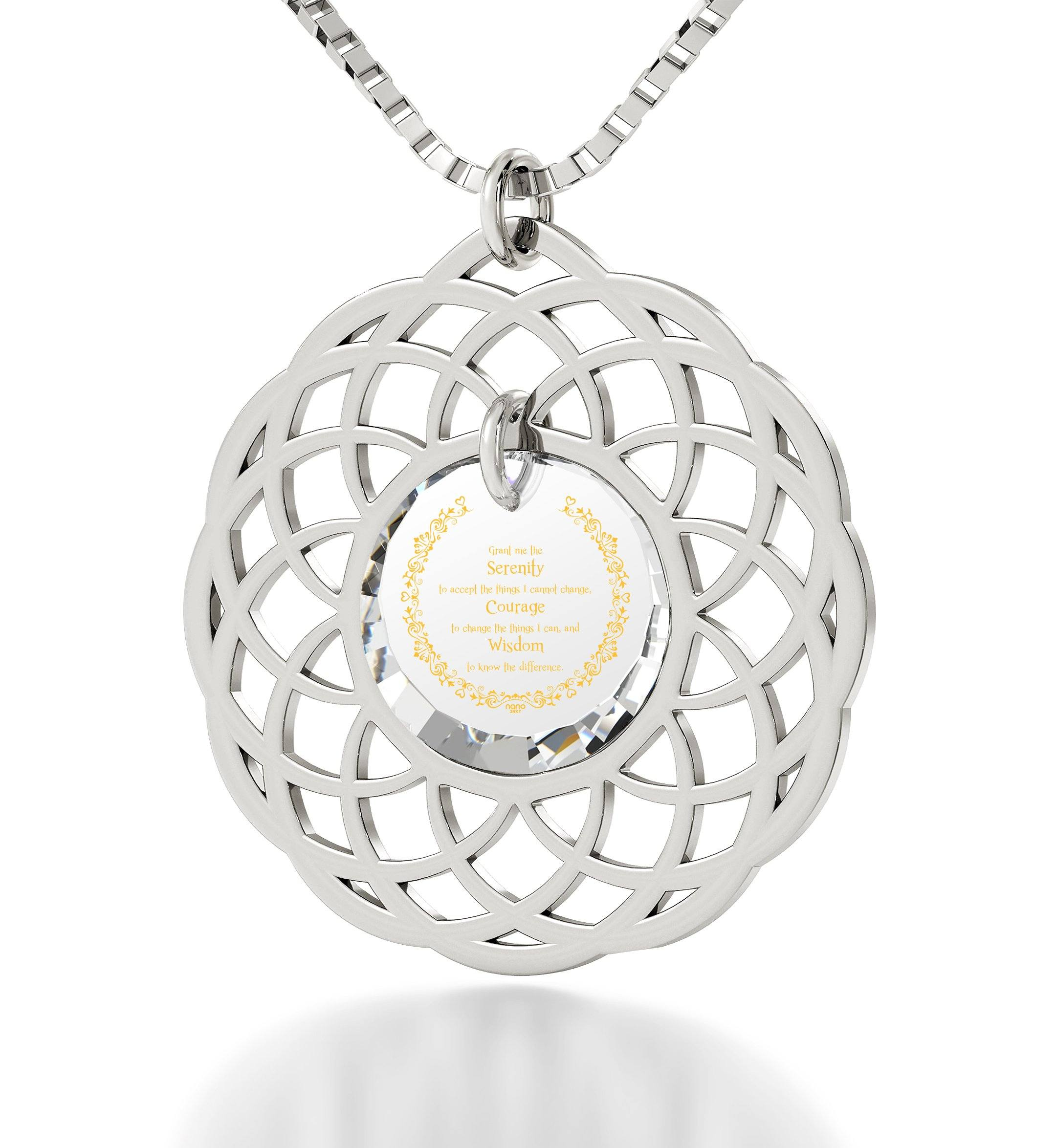 product whimsy serenity better index prayer shop necklace gift