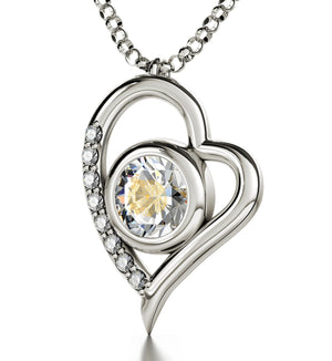 """Psalm 23 inFrenchin 24k: 1st CommunionGifts, What to GetHer for Christmas, Fine SterlingSilverJewelry"""