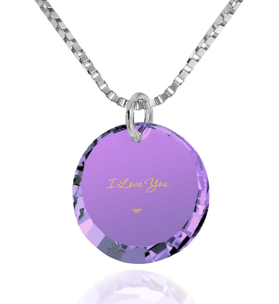 Top Gift Ideas for Women,Sterling Silver Chain, CZ Jewelry, Meaningful Necklaces, Nano