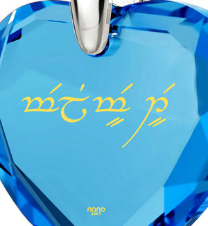 "Top Gifts for Wife, ""I Love You"" in Qenya Elvish , 30th Birthday Present Ideas, Nano Jewelry"