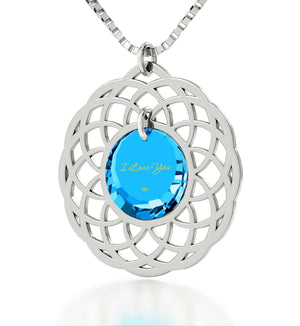Top Womens Gifts,Sterling Silver Jewelry, Romantic Christmas Gifts for Her, Nano