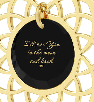 Words Of Affirmation Love Language,Gold Filled, 24k Imprint, Great Gifts for Girlfriend, Nano Jewelry
