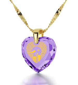 """Good Presents for Girlfriend,24k Engraved Jewelry, Gold Filled Necklace,Womens Birthday Gifts, Nano """