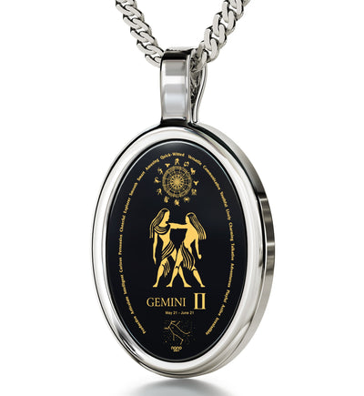 What to Buy My Girlfriend for Christmas: Gemini Characteristics, Engraved Necklaces, Wife Birthday Ideas