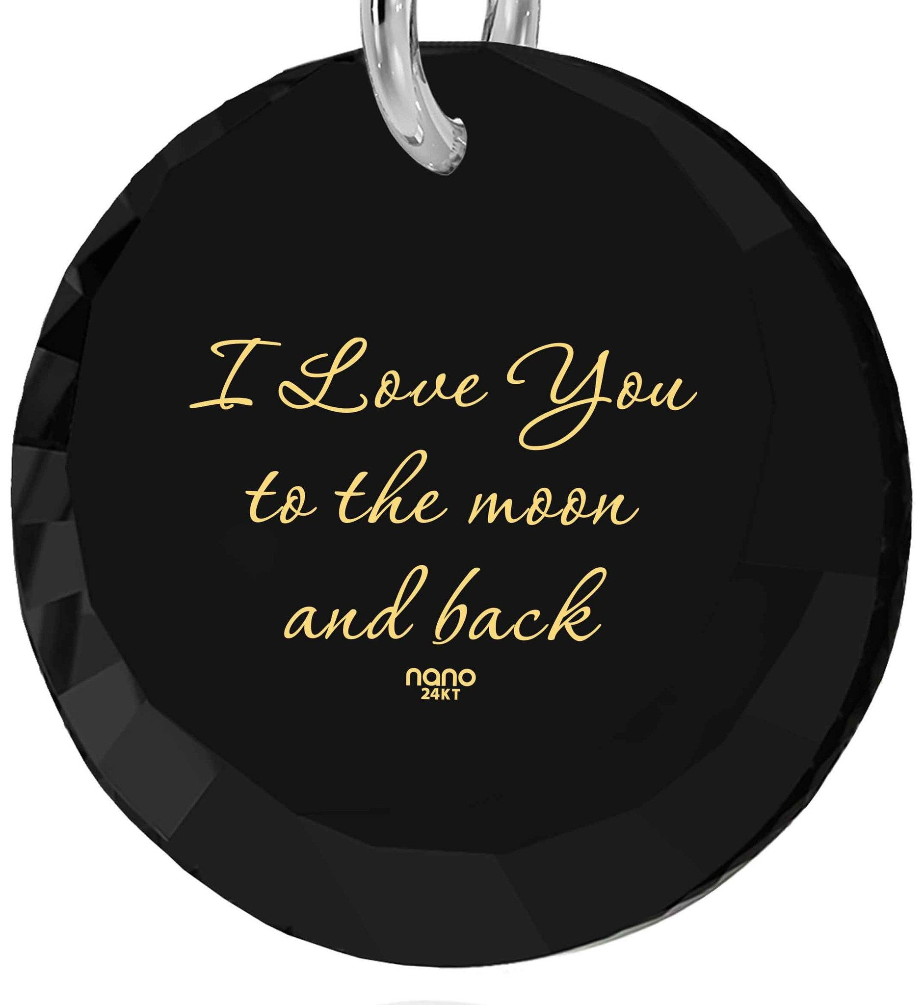 "Best Valentine Gift for Wife,""I Love You to The Moon and Back"", Pure Romance Products, Nano Jewelry"
