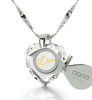 What to Get Girlfriend for Birthday, Meaningful Heart Stone Jewelry, 2nd Anniversary Gift Ideas, by Nano