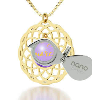 """What to Get Girlfriend for Christmas, Gold Filled Chain,CZJewellery,Womens Presents, Nano """