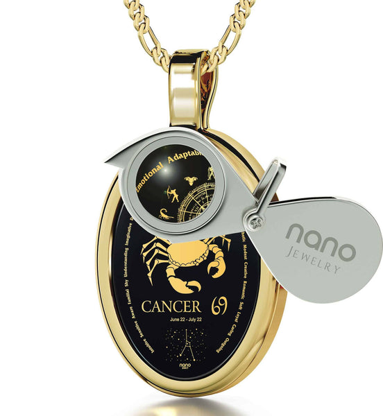 Gold Plated Cancer Jewelry Thrill A Loved One With Nano Now