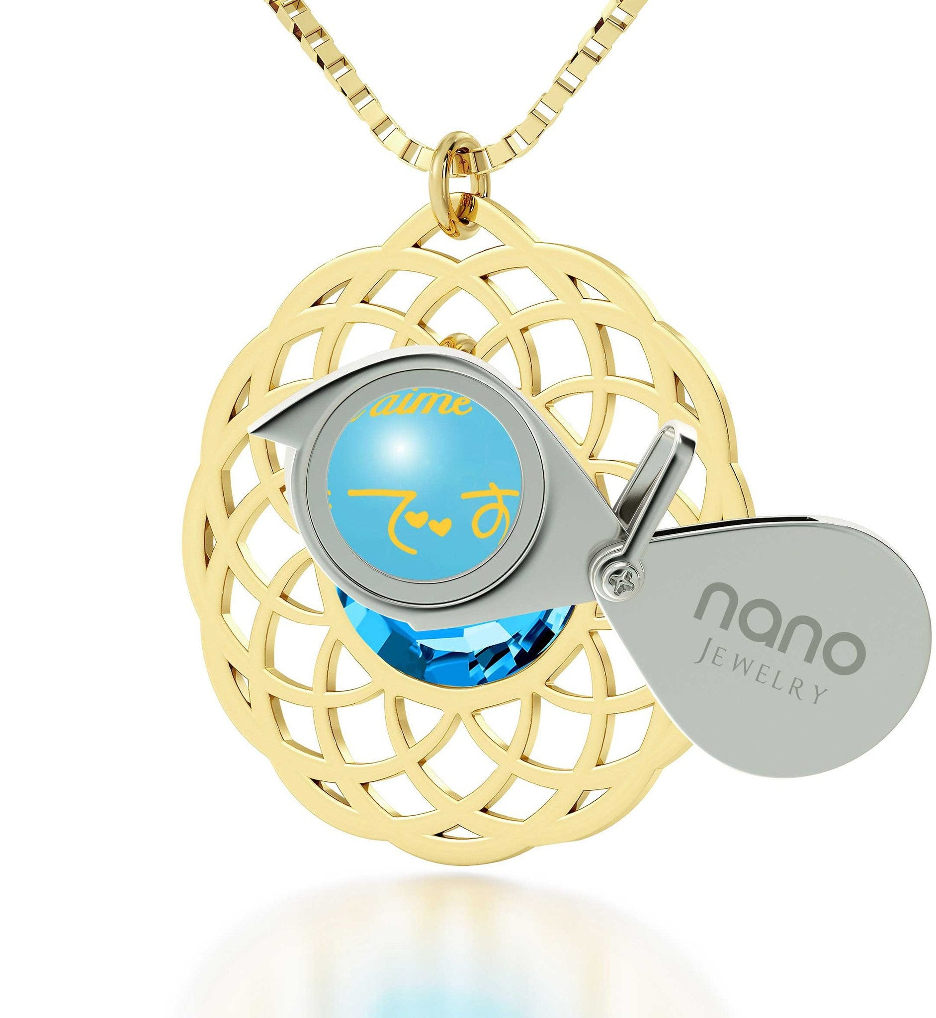 Wife Birthday Ideas, Gold Plated Necklaces, I Love You Jewelry, Nano