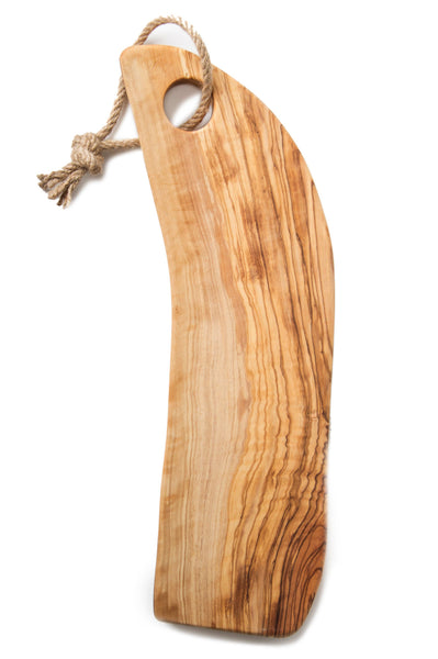 Olive Wood  Service Board/Cutting Board, Handcrafted From Reclaimed/Recycled Trees - AHENQUE