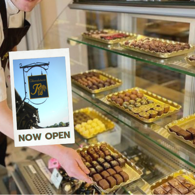 Chocolaterie Cafes Open - Buy Luxury Handmade Chocolates with Click Collect or Deliver