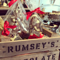 Christmas at Rumsey's Chocolates