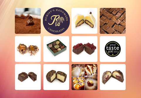 Handmade Praline Fresh Truffles UK Delivered Artisan Gifts Boxes Valentines Day 2021 Gift Him Her Mothers Day Birthday
