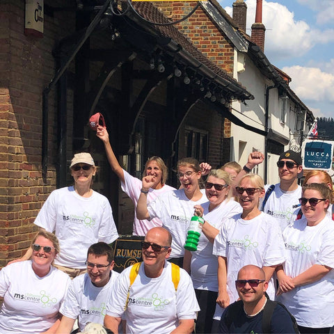 Rumsey's Charity Walk Leaving Wendover