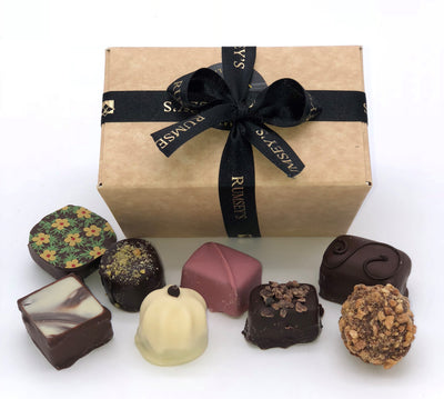 Ballotin box luxury handmade chocolates gift small token