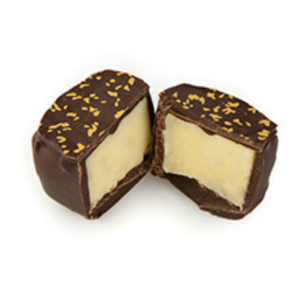 Champagne Truffle Chocolate Open
